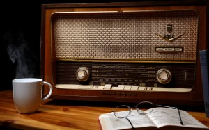 old-radio-table-book-glasses
