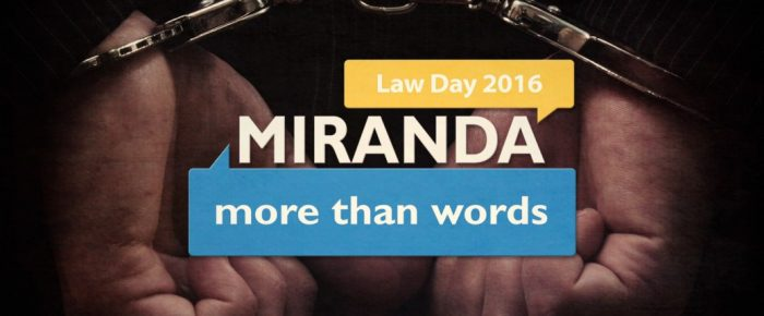 May 1 is Law Day